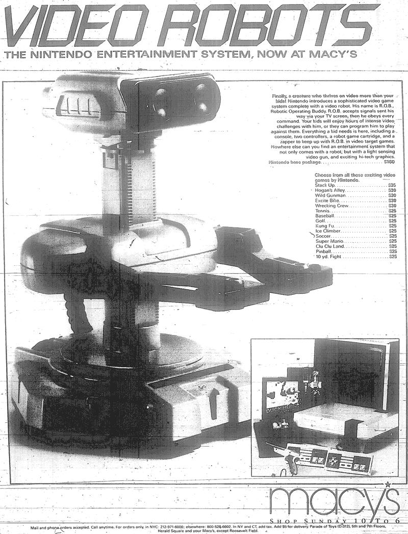NES Macy Ad 11-17-1985