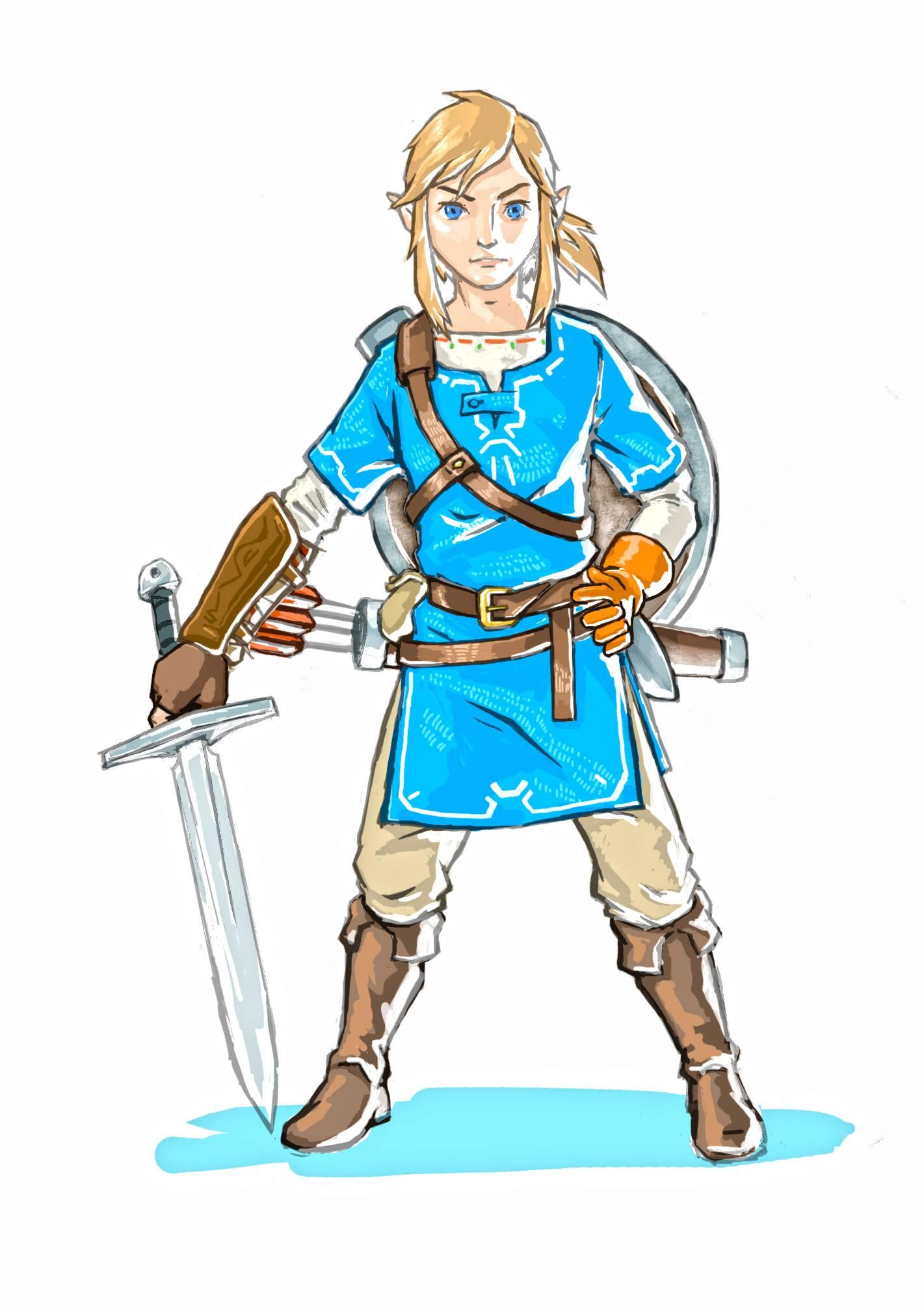 Zelda-Link-Art2