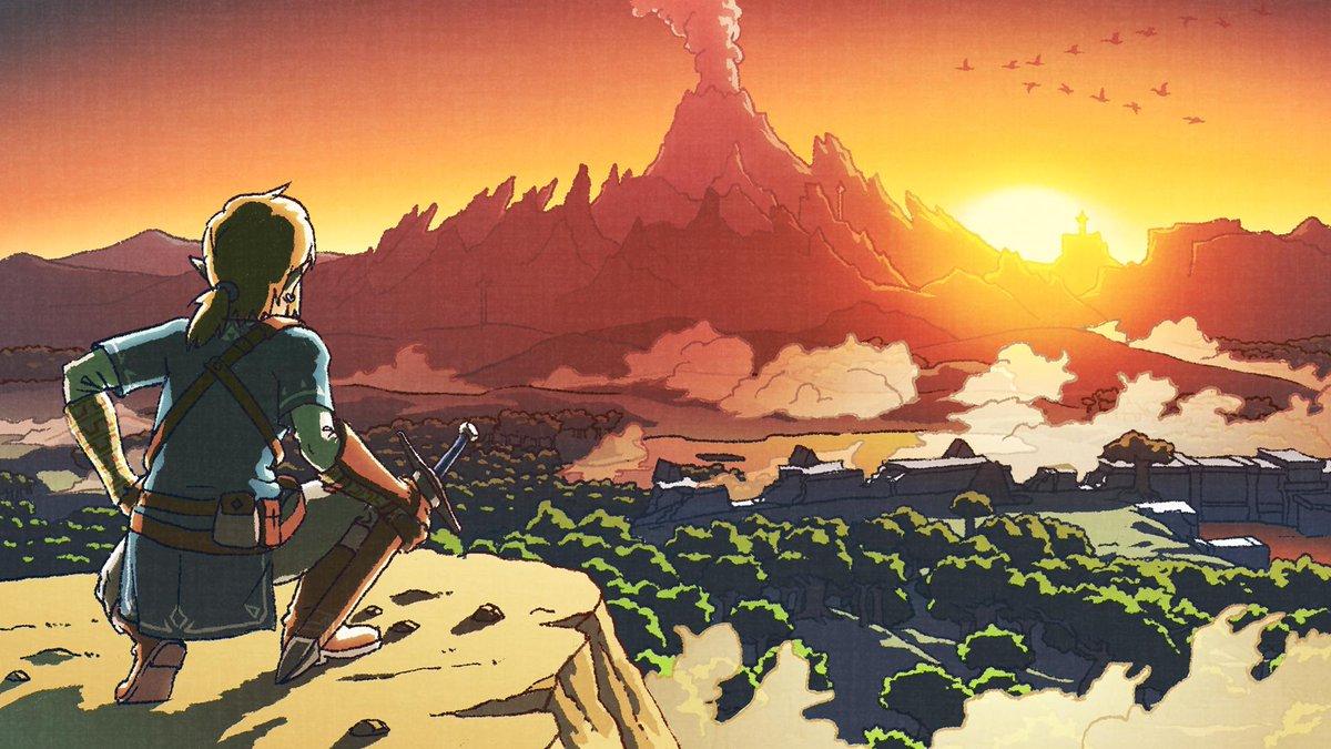 Zelda-BOTW-New-Year-Art