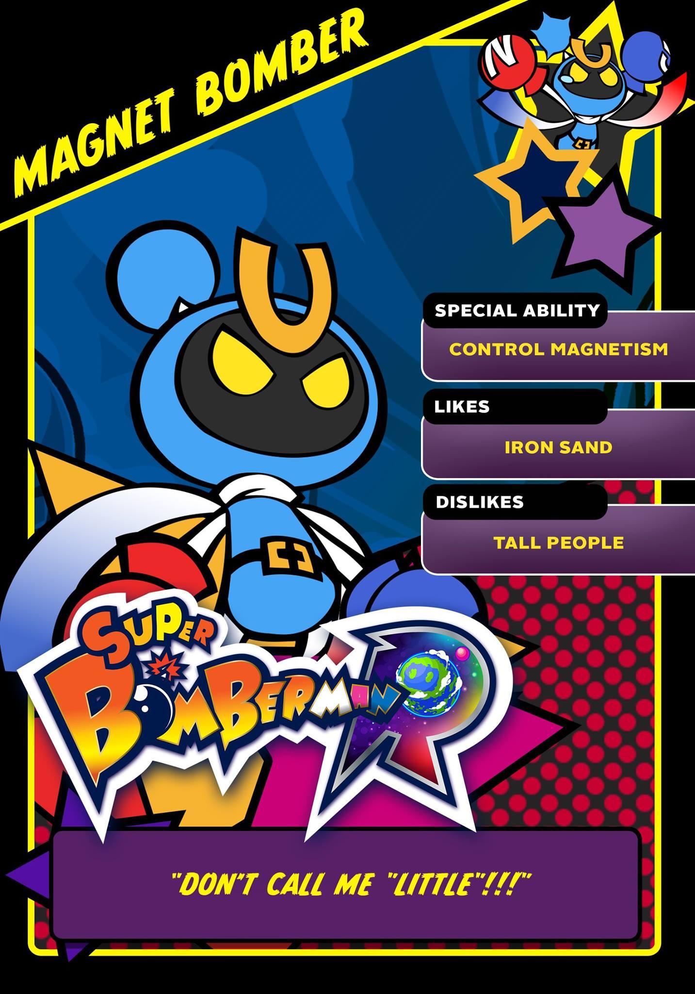 Bomberman-Magnet