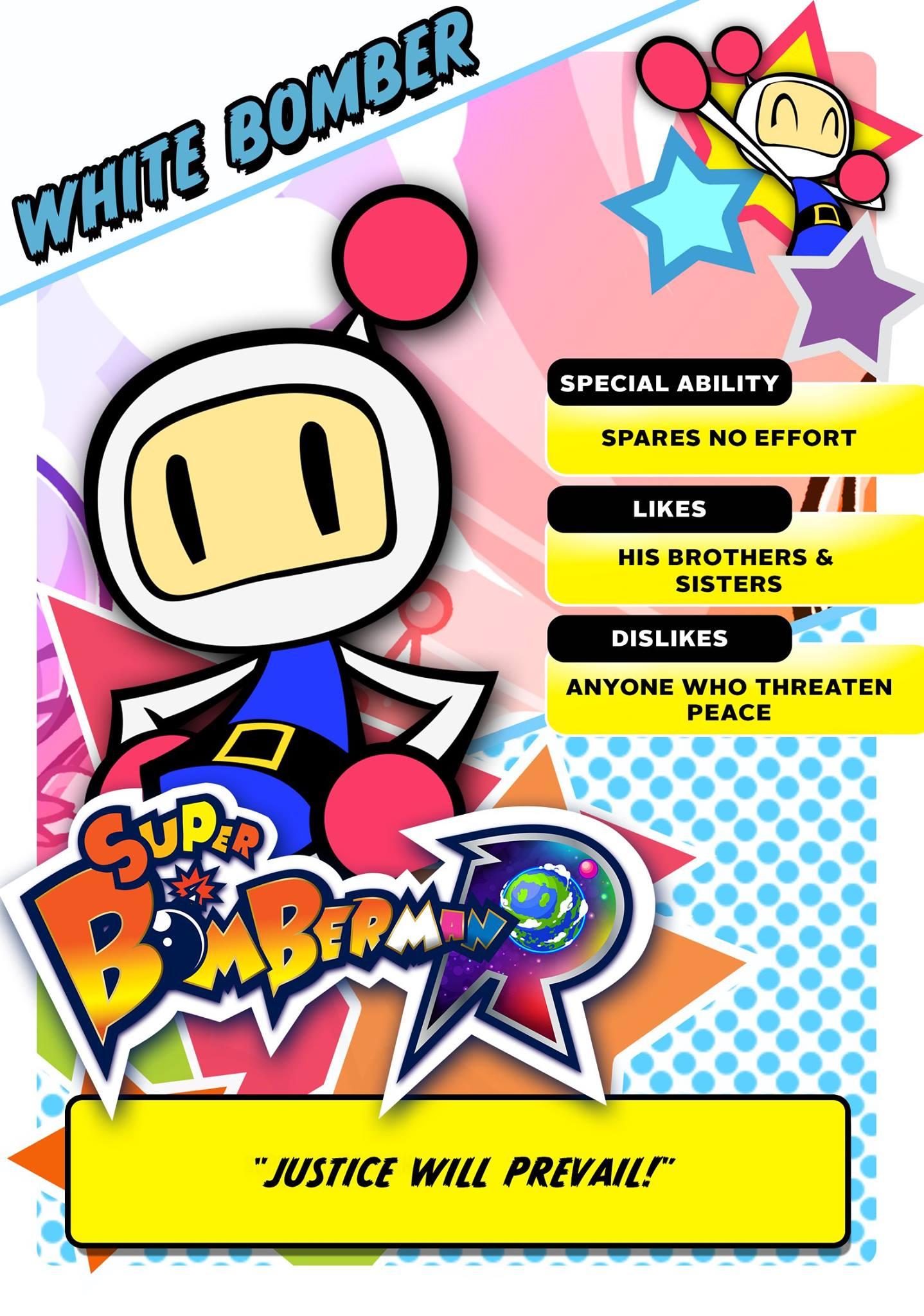 Bomberman-White