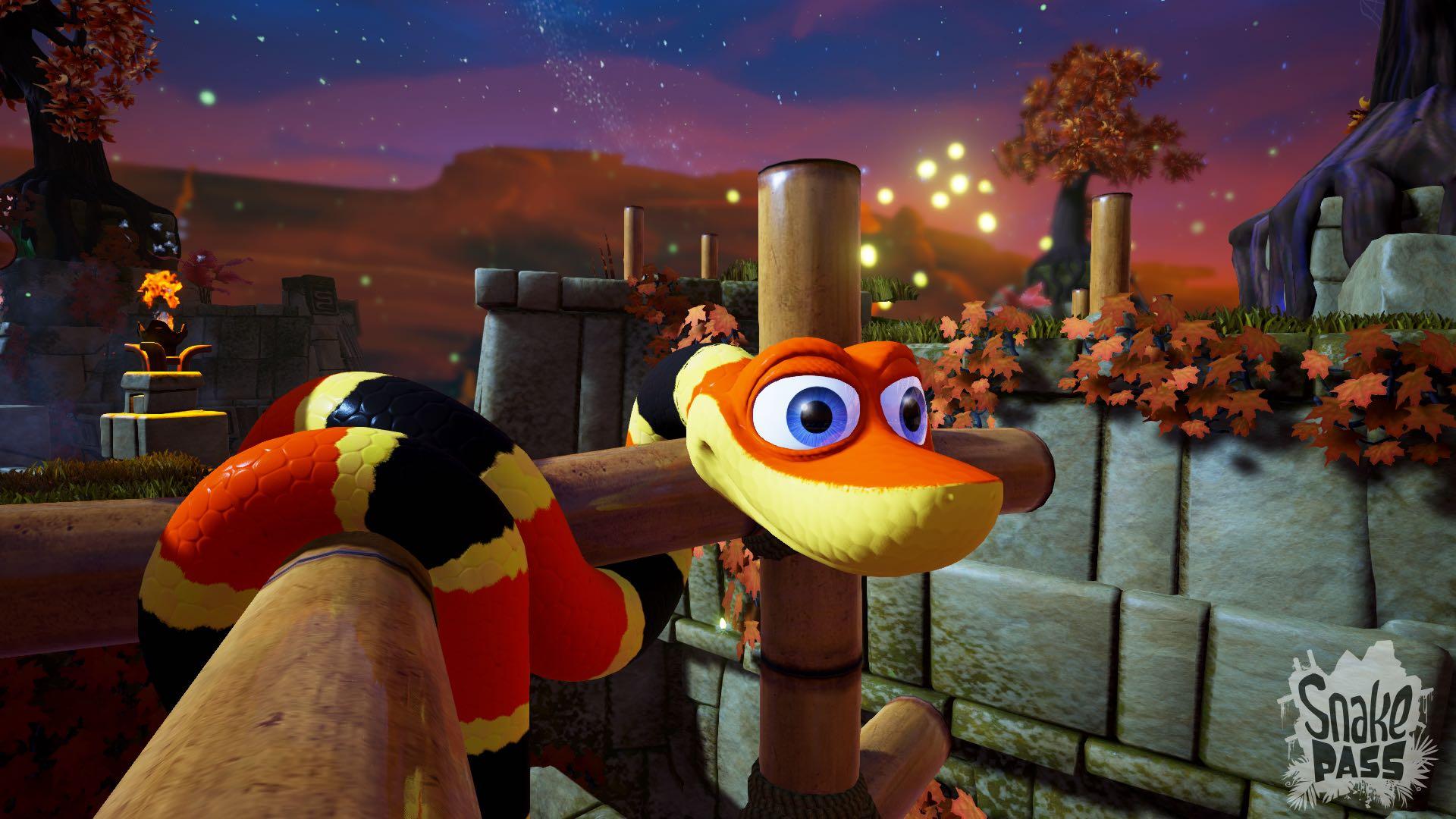 Snake Pass - Fire Screenshot 1