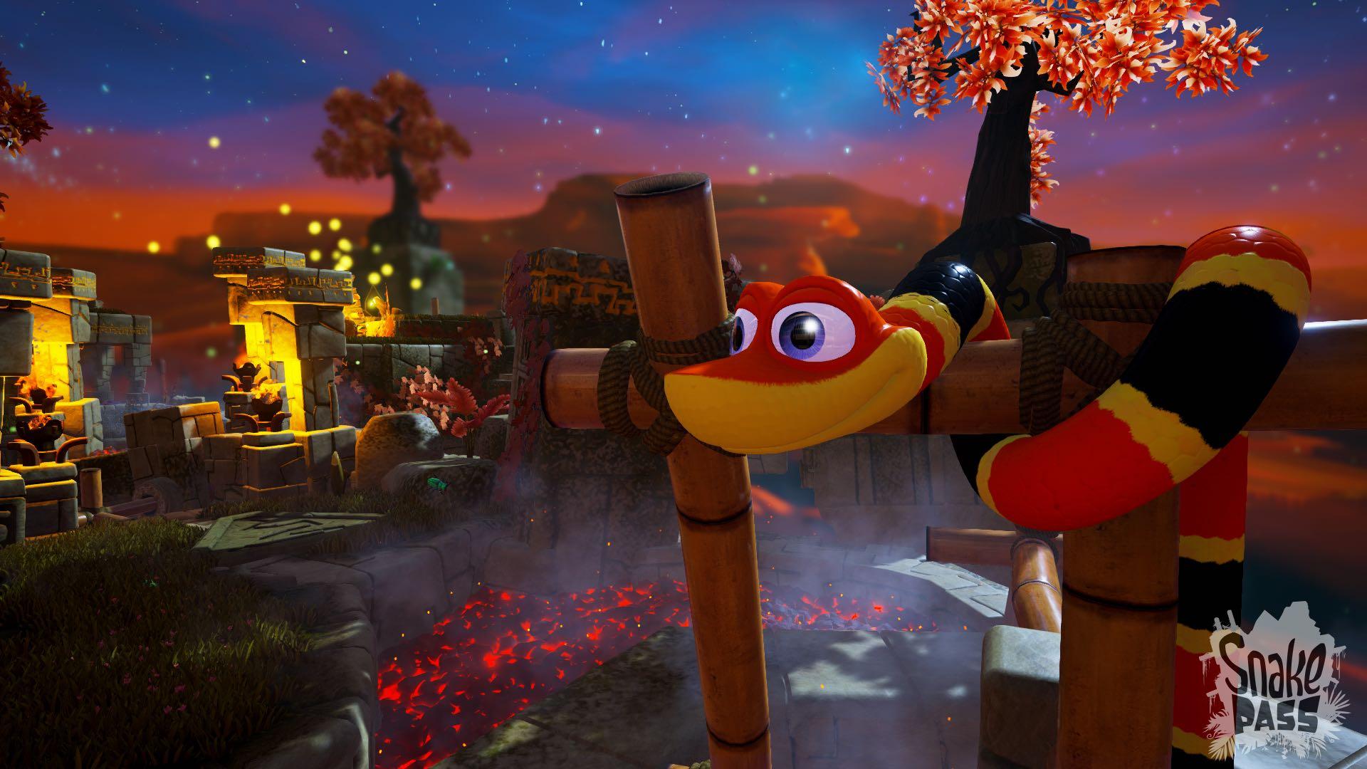 Snake Pass - Fire Screenshot 3