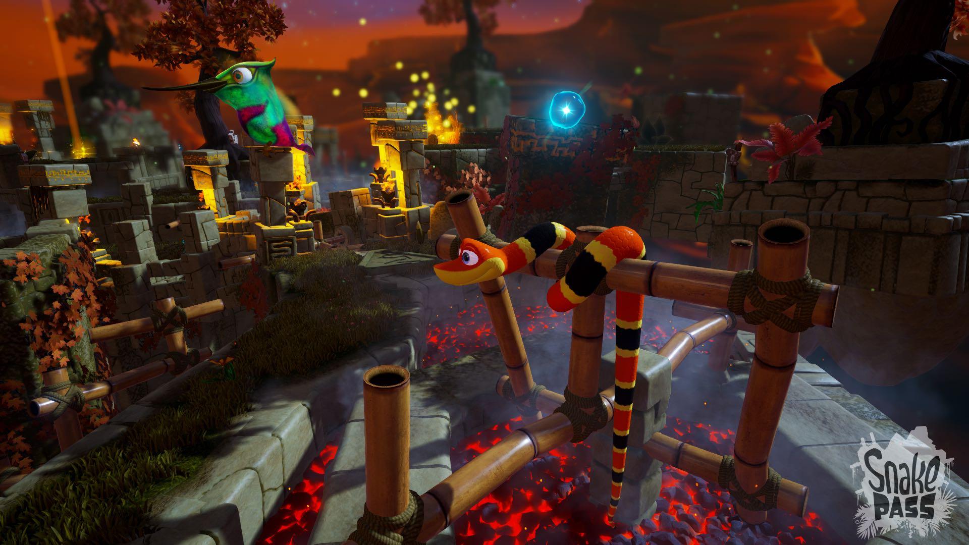 Snake Pass - Fire Screenshot 4