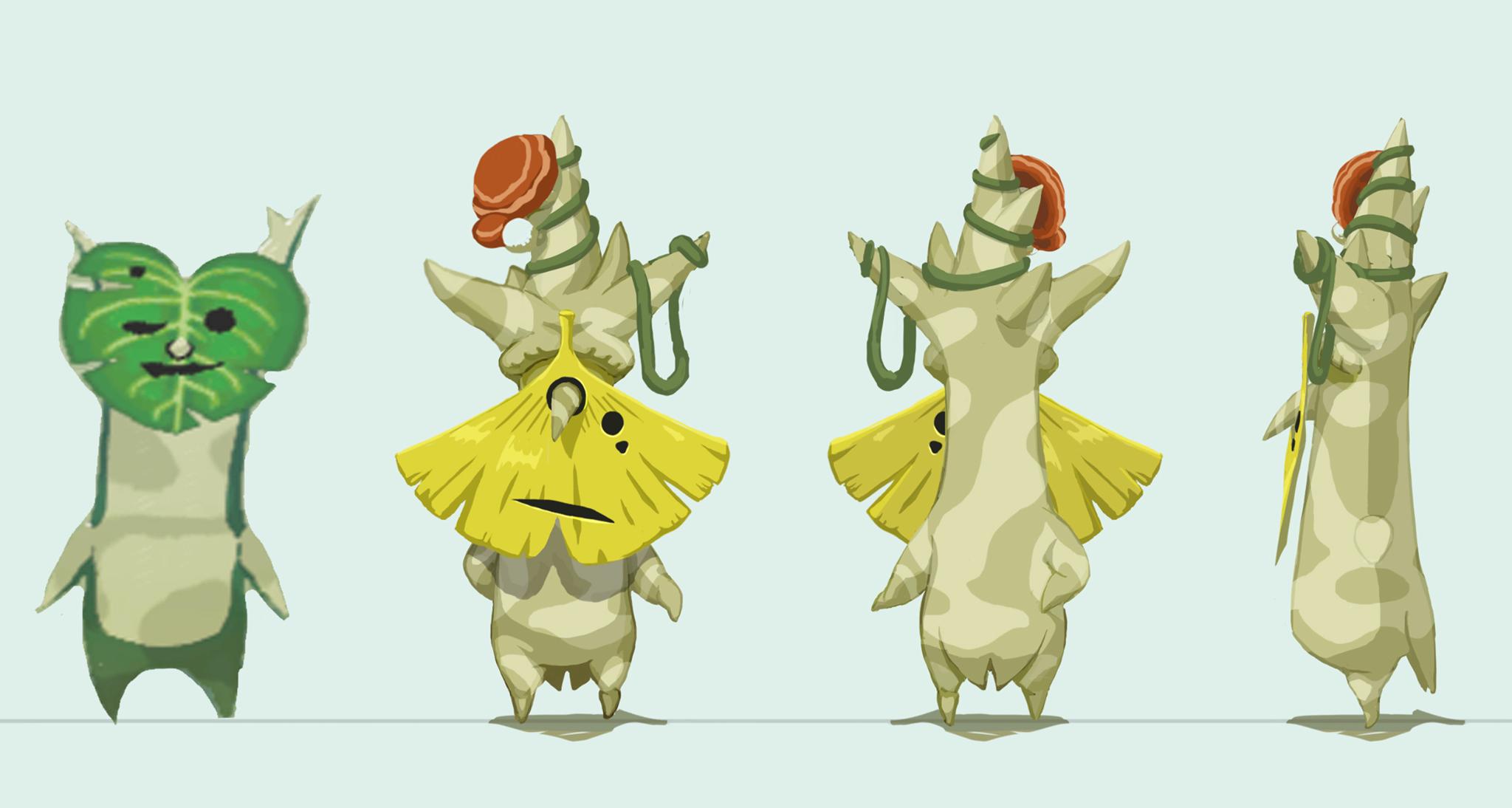 Zelda-Korok-Art