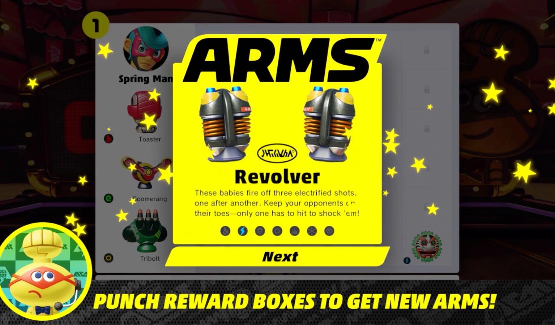 Arms-Revolver