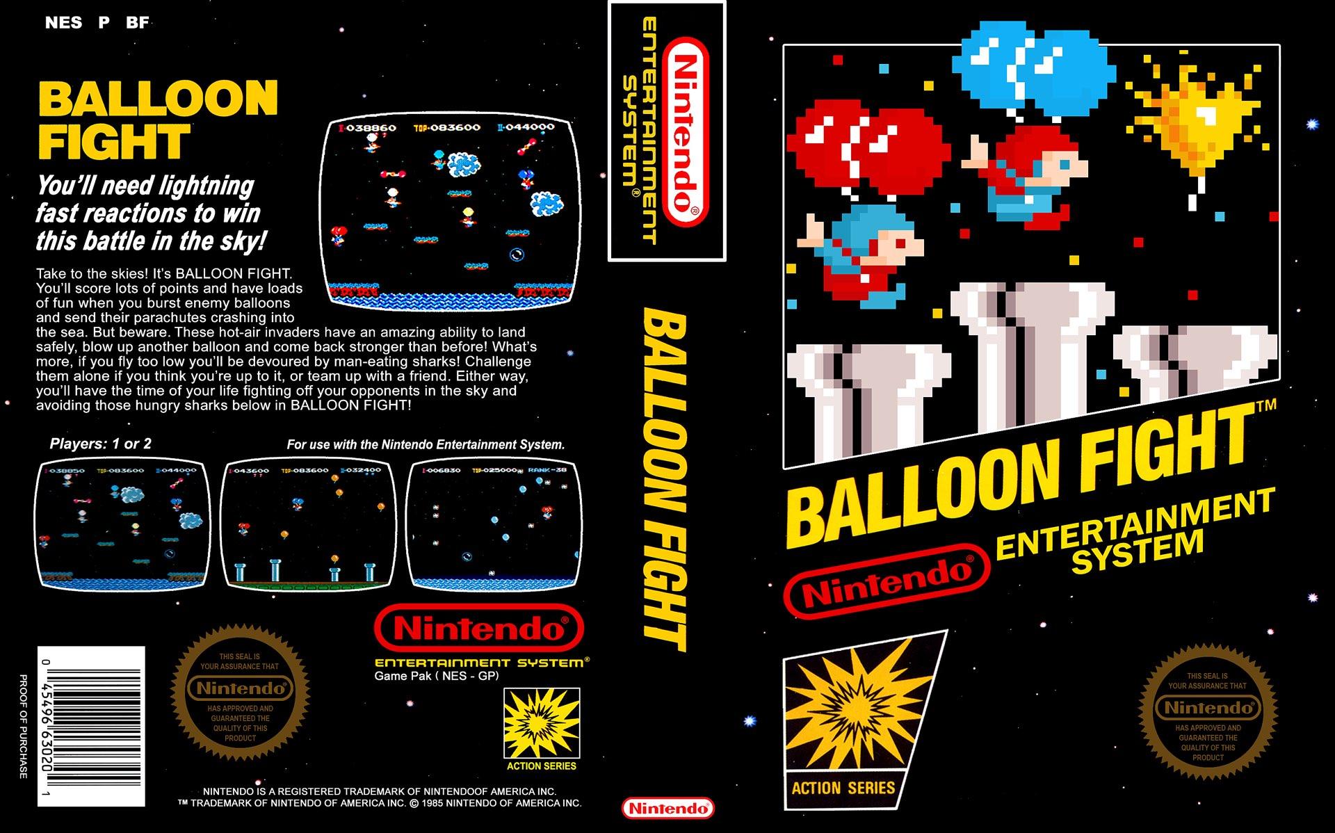 Balloon Fight Box