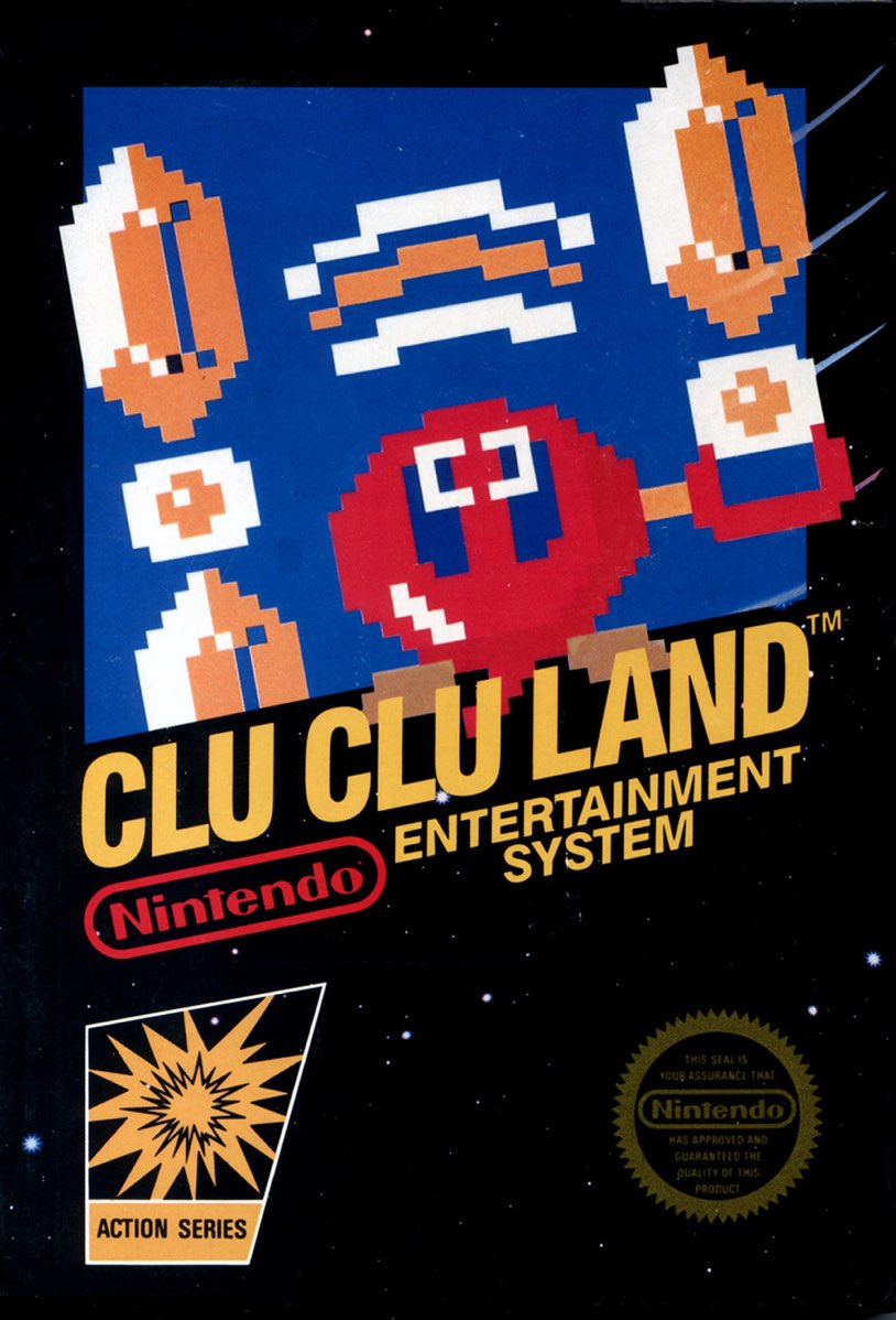 Clu Clu Land Box