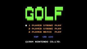 Golf (NES) Game Hub