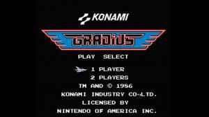 Gradius (NES) Game Hub