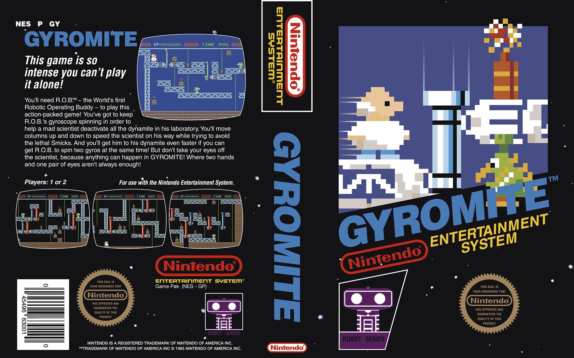 Gyromite Box