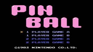Pinball (NES) Game Hub