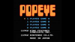 Popeye (NES) Game Hub