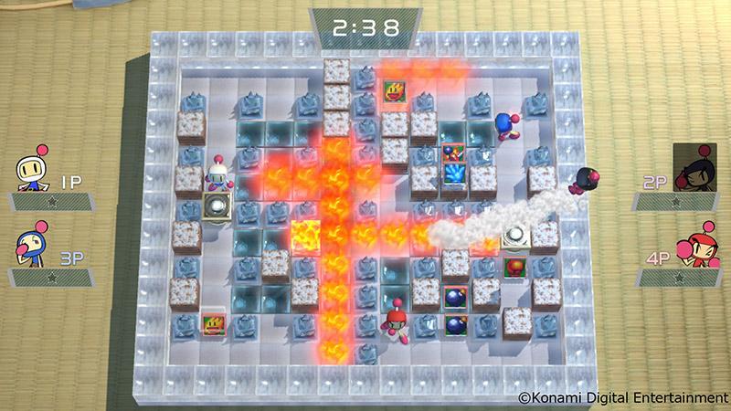Super Bomberman R Extra Stage-1