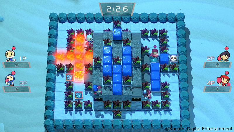 Super Bomberman R Extra Stage-2