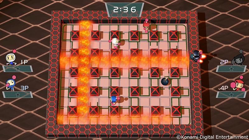 Super Bomberman R Extra Stage-4