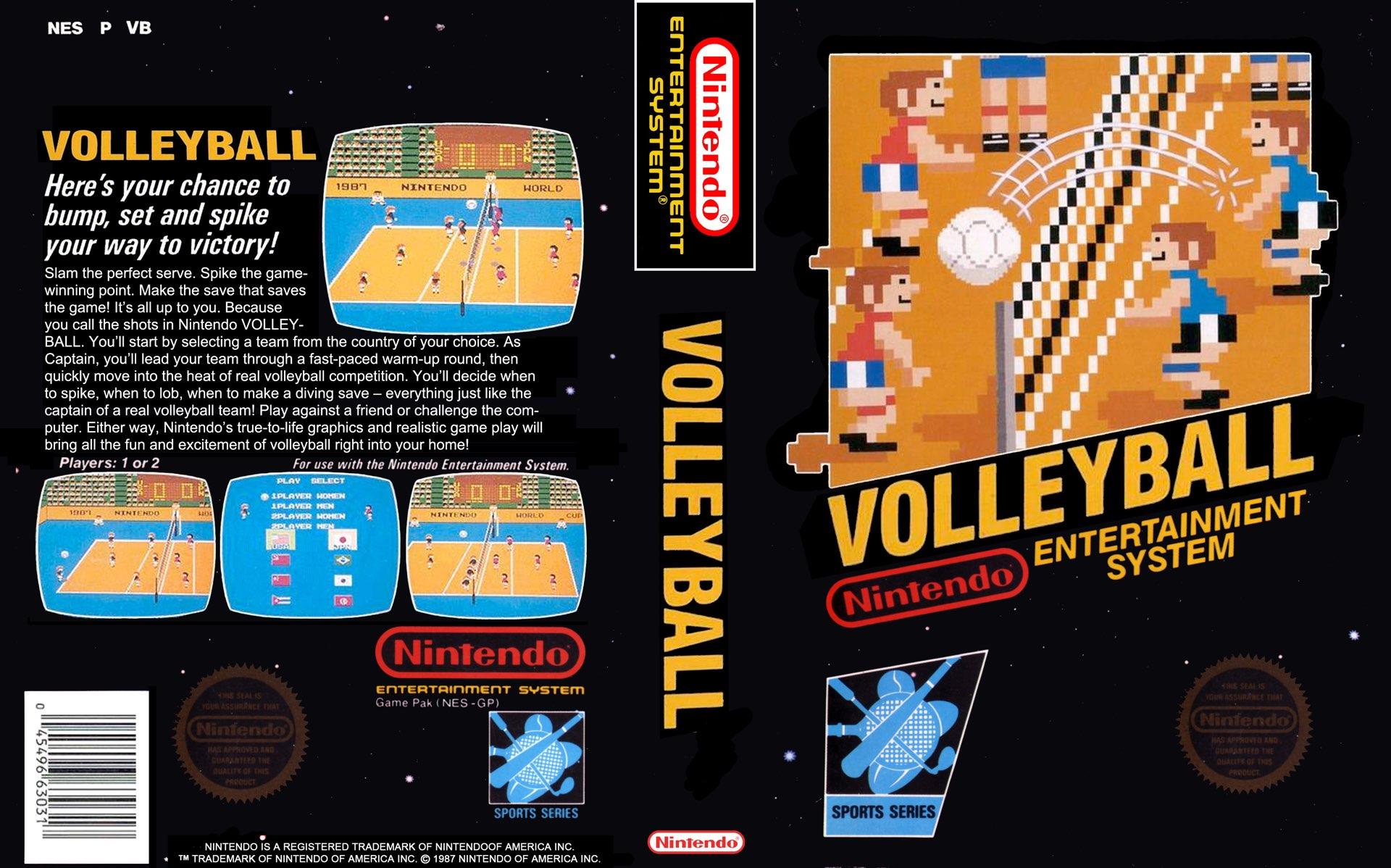 Volleyball Box