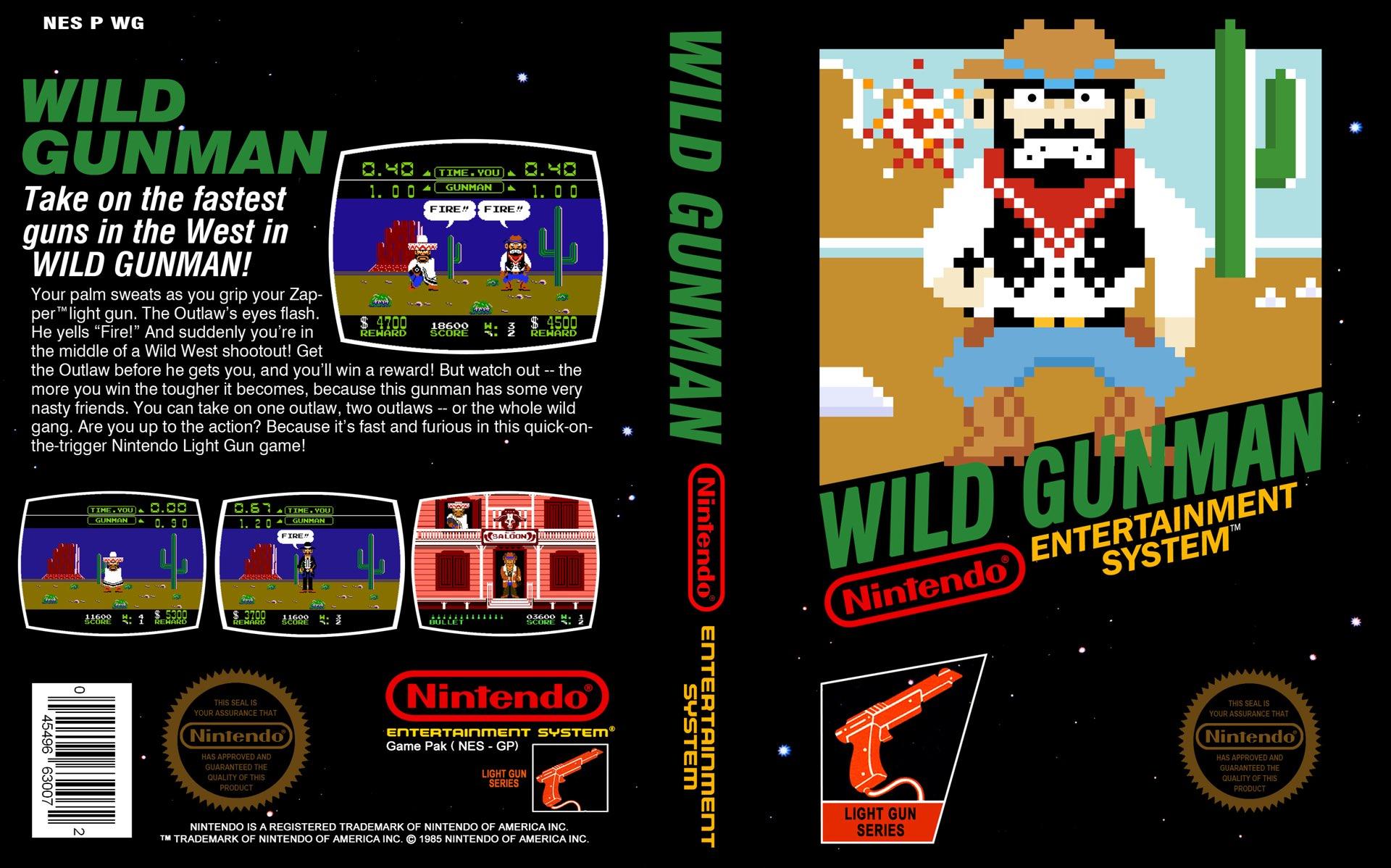 Wild Gunman Box