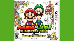 Mario & Luigi: Superstar Saga + Bowser's Minions (3DS) Game Hub