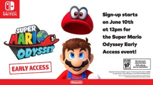 Live In Canada? You Could Try Super Mario Odyssey June 13-15