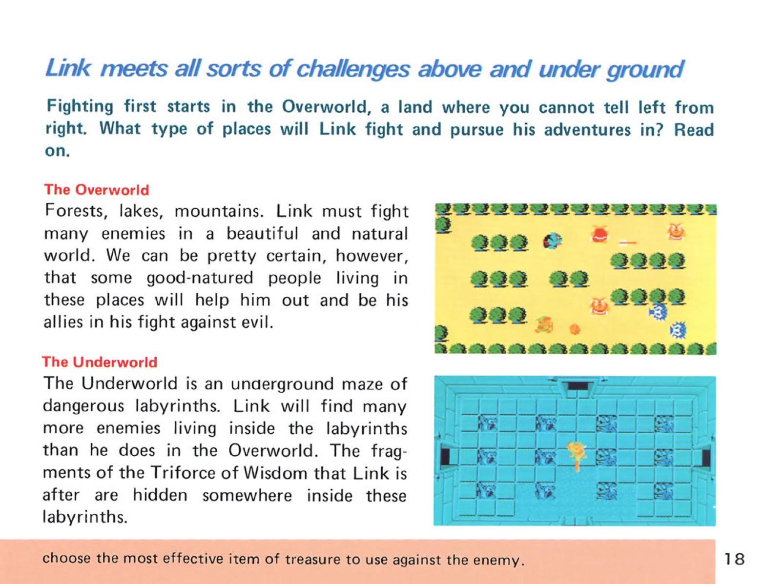 The Legend of Zelda Instruction Booklet - 18