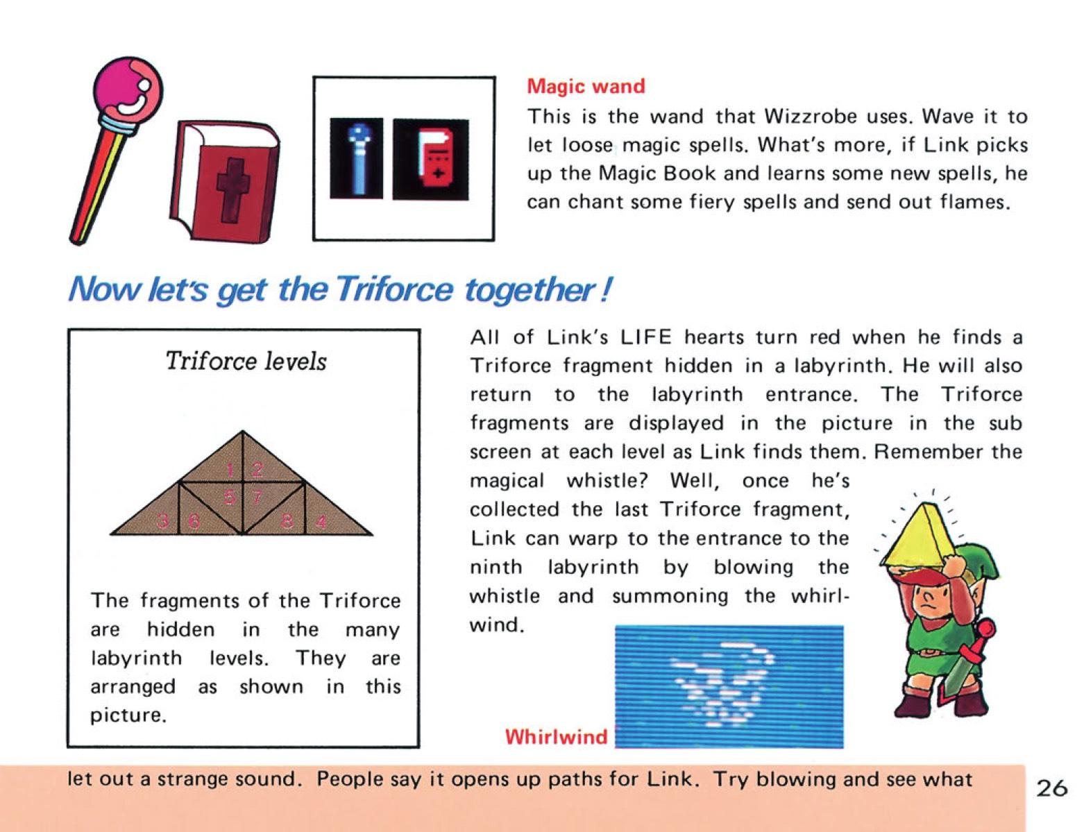 The Legend of Zelda Instruction Booklet - 26
