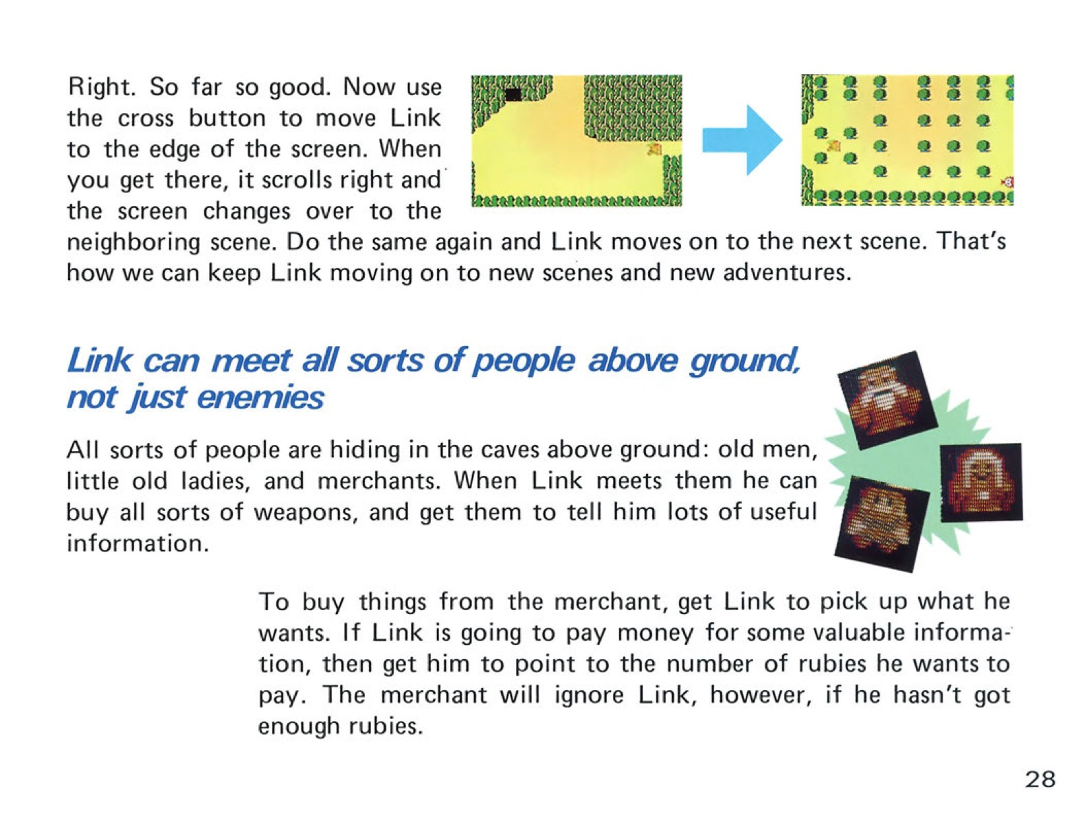 The Legend of Zelda Instruction Booklet - 28