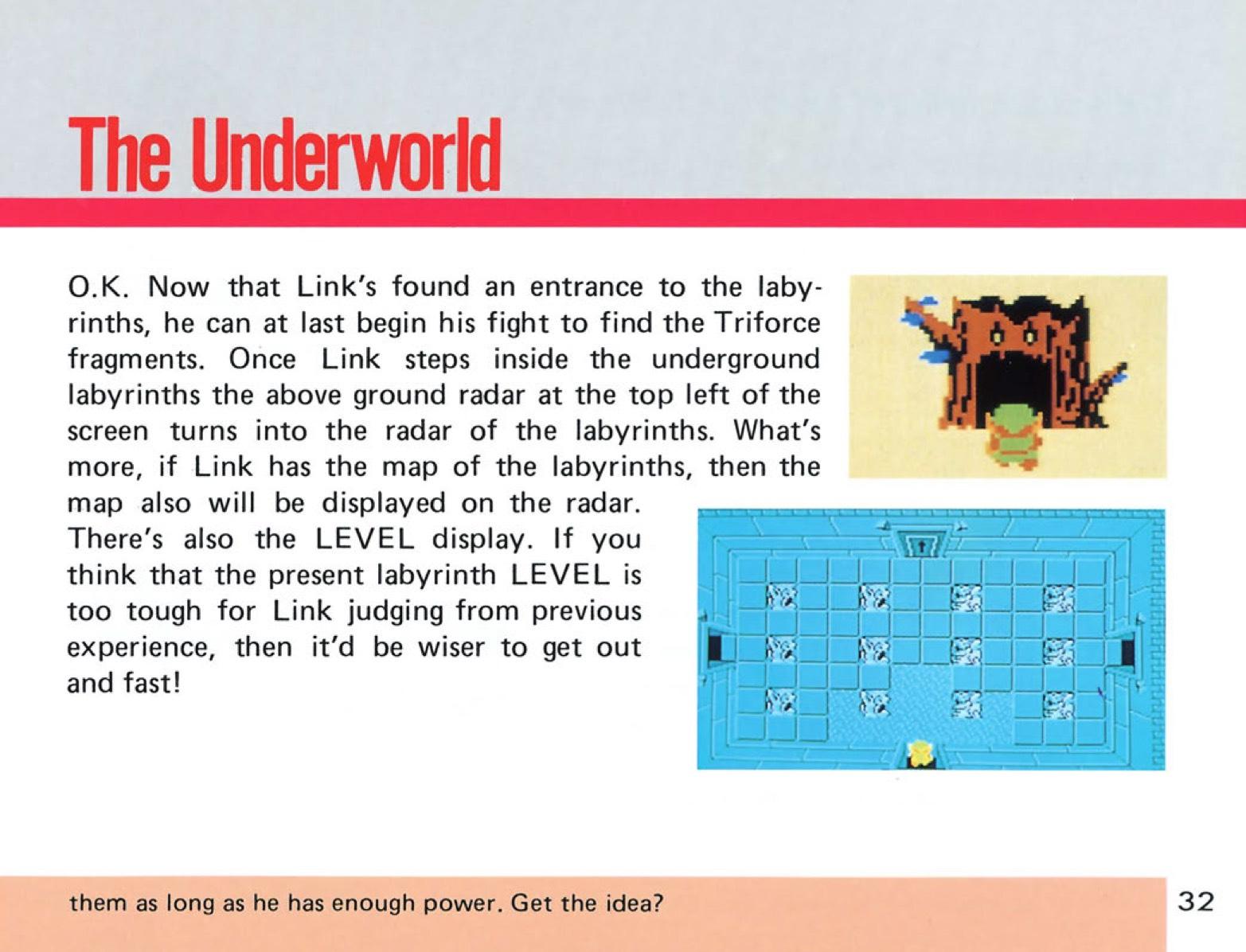 The Legend of Zelda Instruction Booklet - 32
