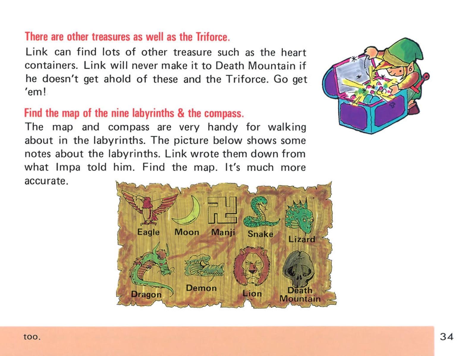 The Legend of Zelda Instruction Booklet - 34
