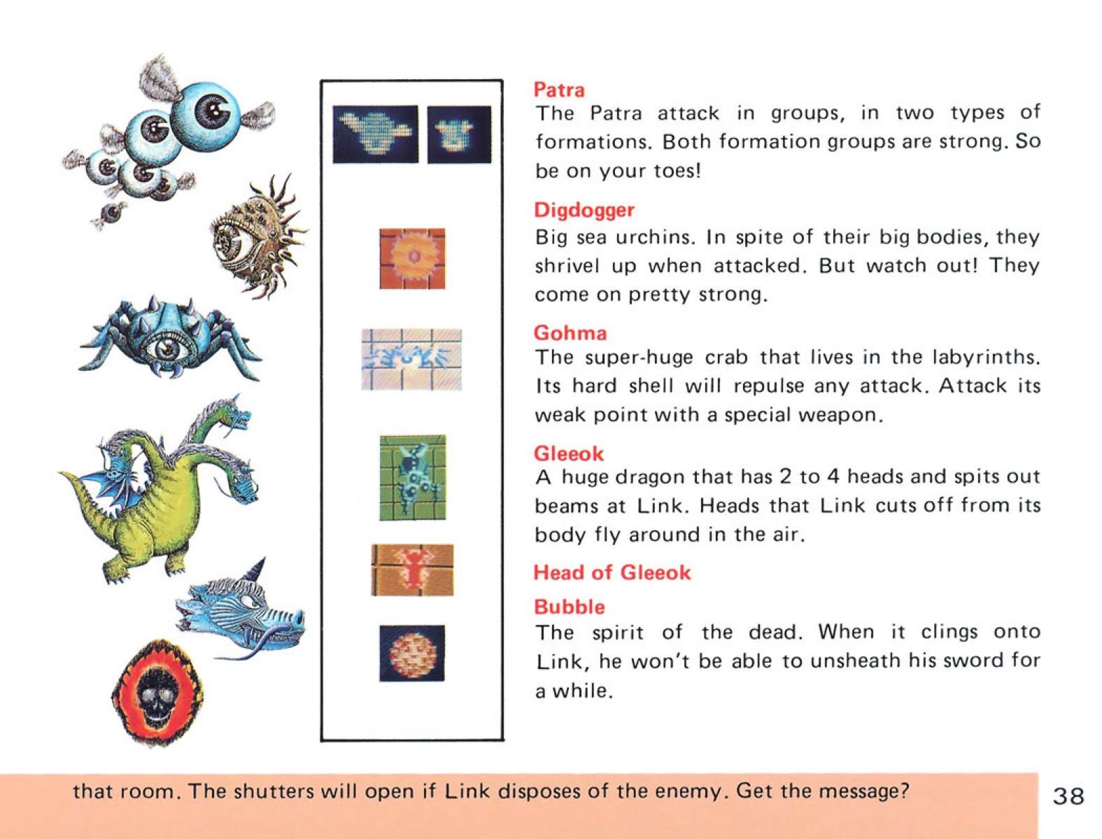 The Legend of Zelda Instruction Booklet - 38