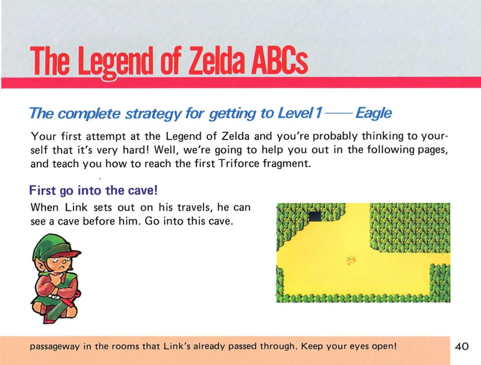 The Legend of Zelda Instruction Booklet - 40