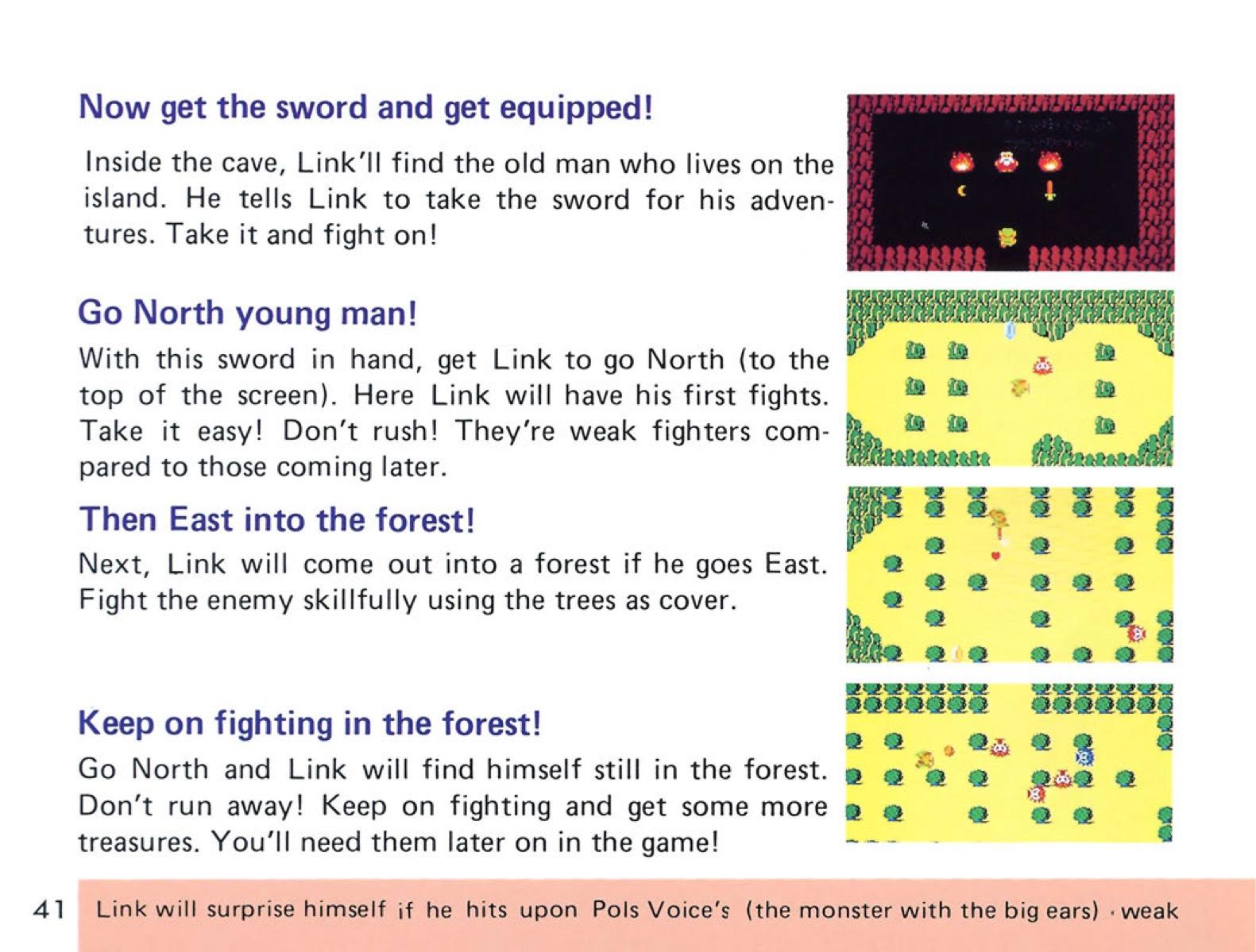 The Legend of Zelda Instruction Booklet - 41