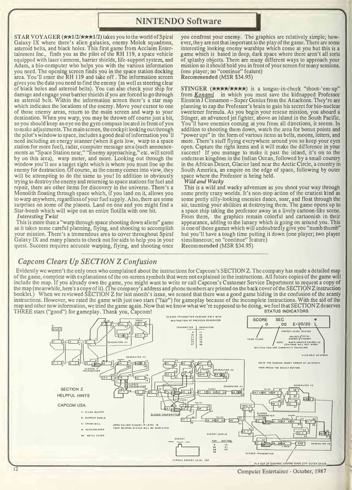 Computer Entertainer - October 1987 - p12