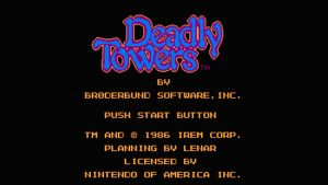 Deadly Towers (NES) Game Hub