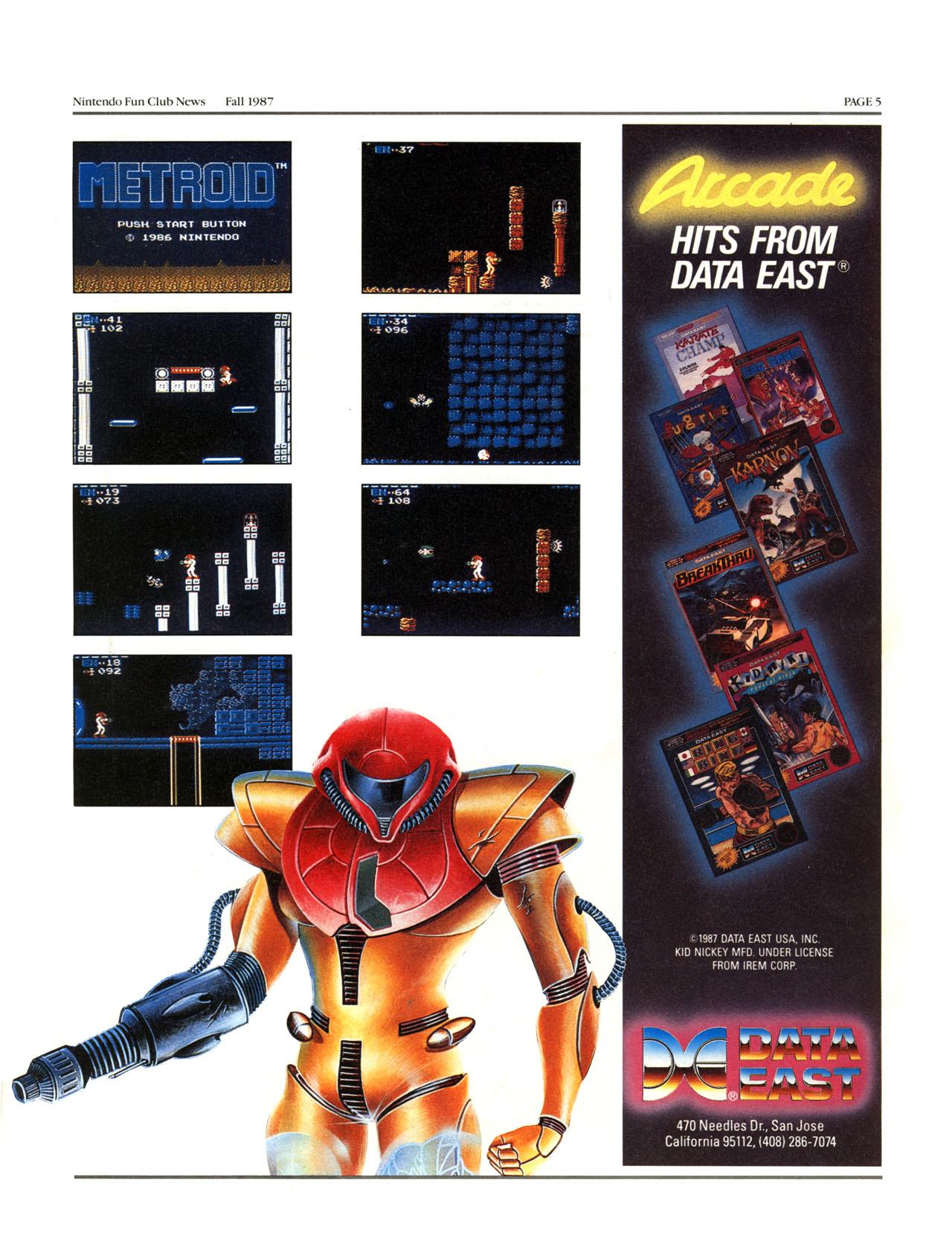Nintendo Fun Club News - Fall 1987 - p5