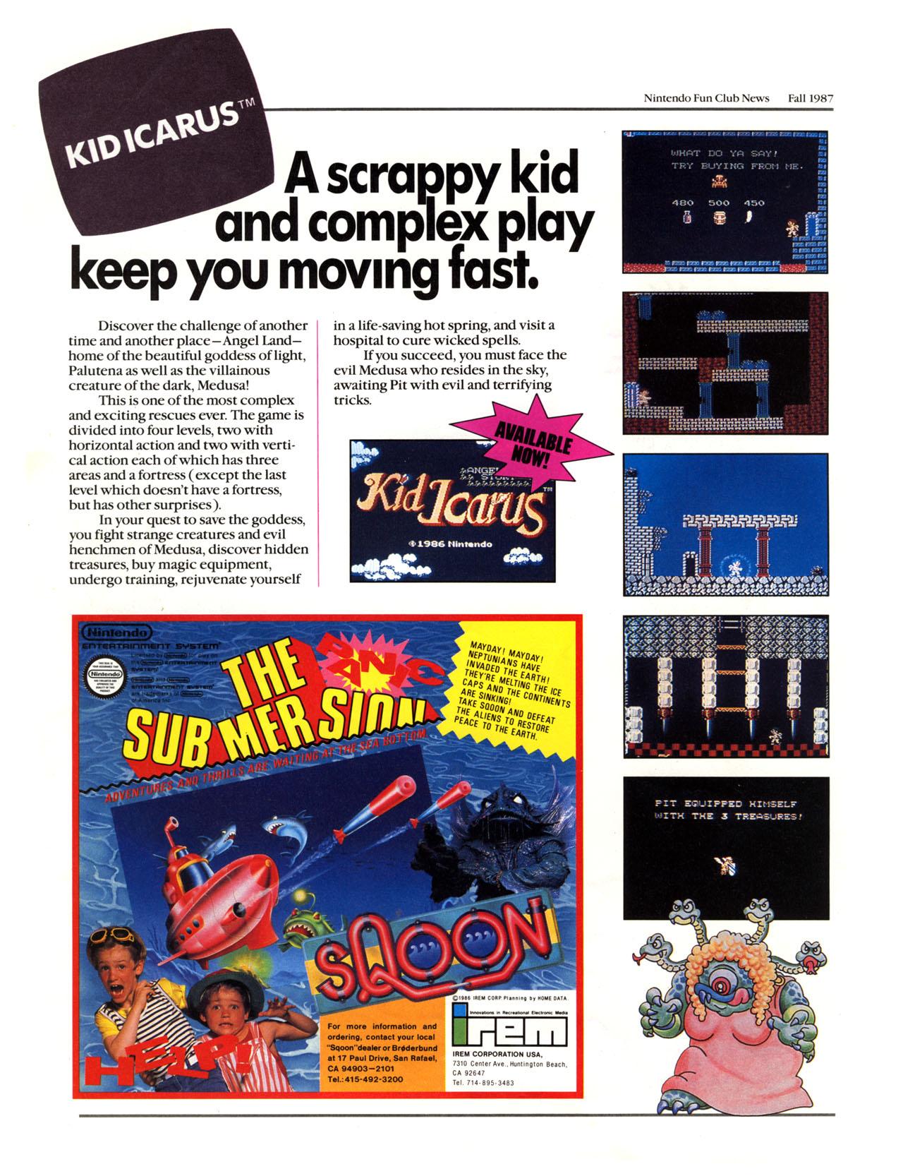 Nintendo Fun Club News - Fall 1987 - p6