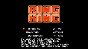 Ring King (NES) Game Hub