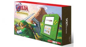 Link Green Nintendo 2DS & Zelda: Breath Of The Wild Explorer's Edition Announced