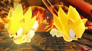 Super Sonic DLC For Sonic Forces Free For Month