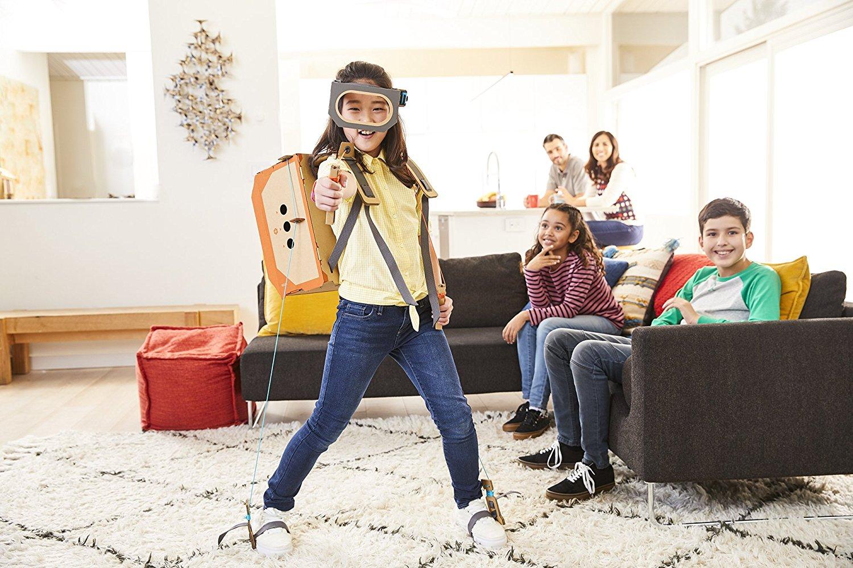 Nintendo-Labo-Robot-Kit-Play