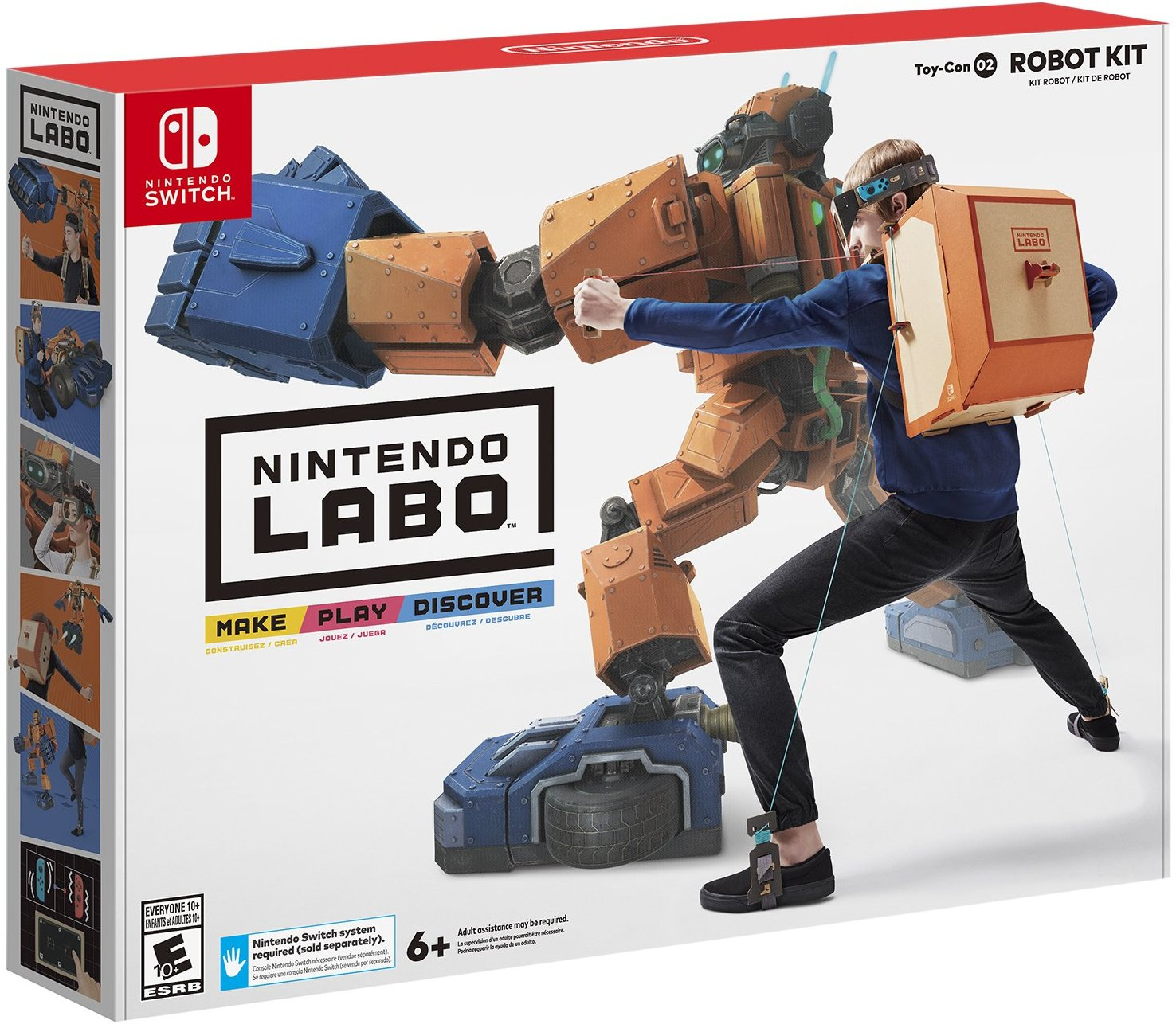 Nintendo-Labo-Robot-Kit