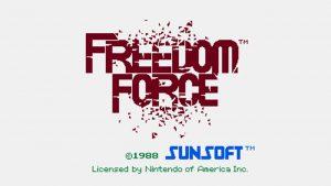 Freedom Force (NES) Game Hub