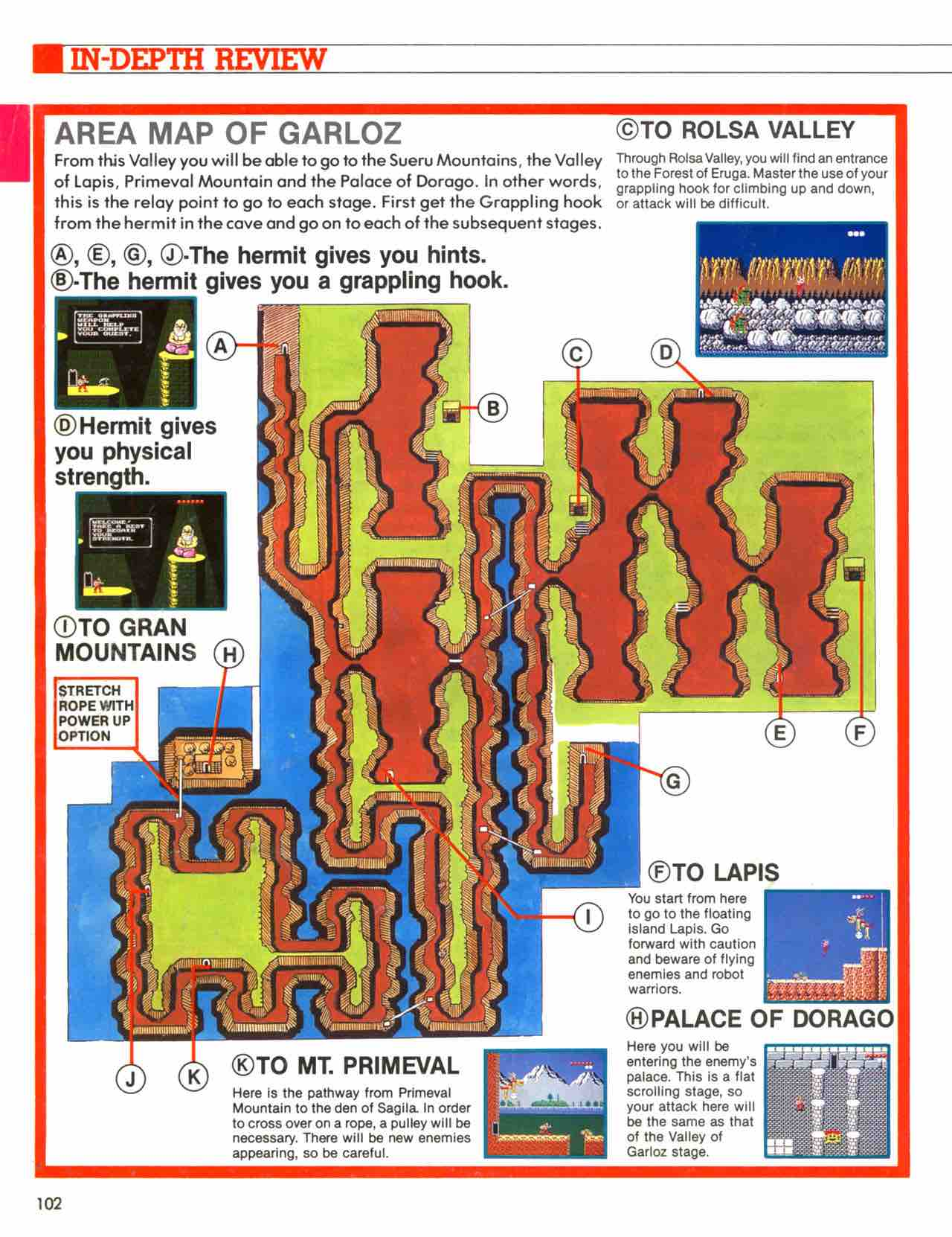 Official Nintendo Player's Guide Pg 102