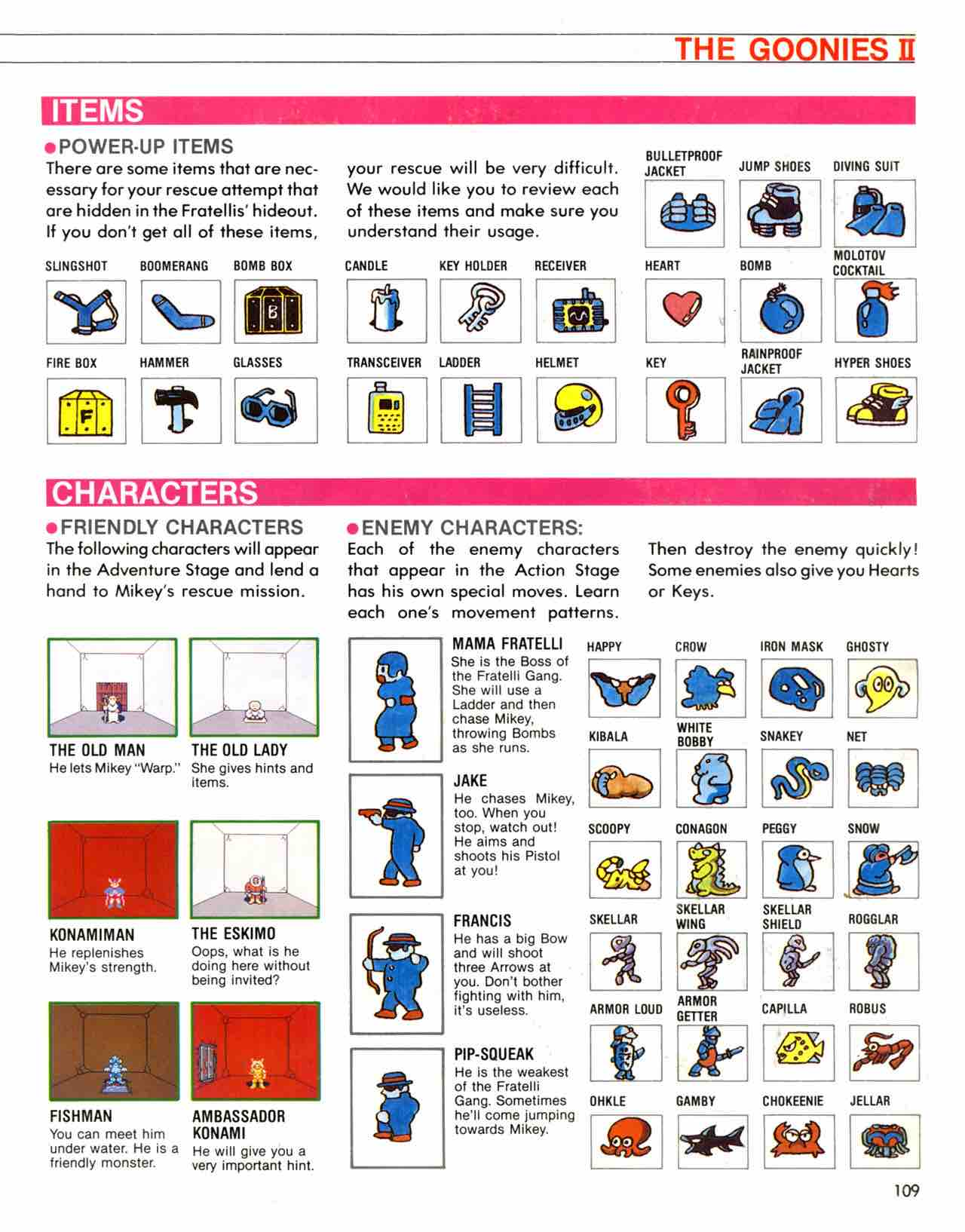 Official Nintendo Player's Guide Pg 109