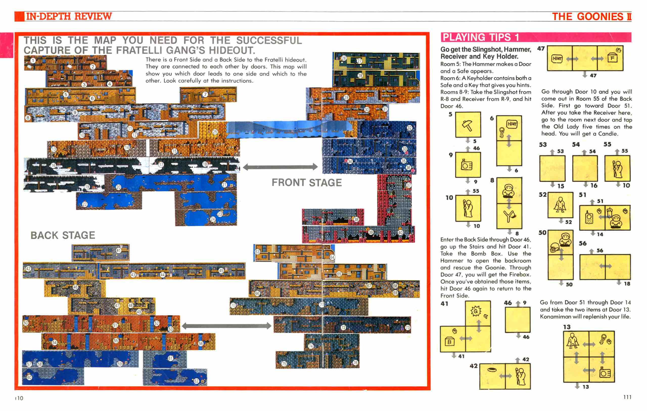 Official Nintendo Player's Guide Pg 110-111