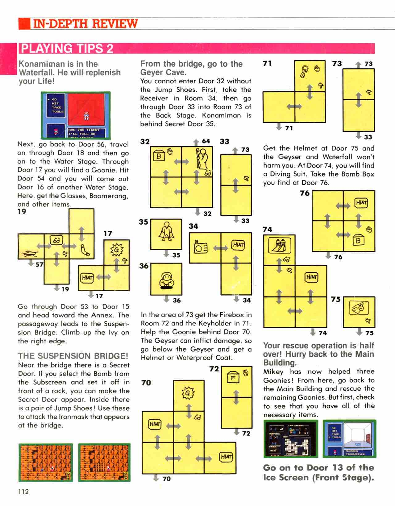 Official Nintendo Player's Guide Pg 112