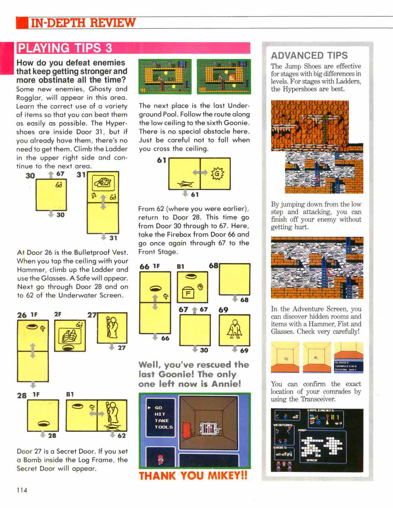Official Nintendo Player's Guide Pg 114