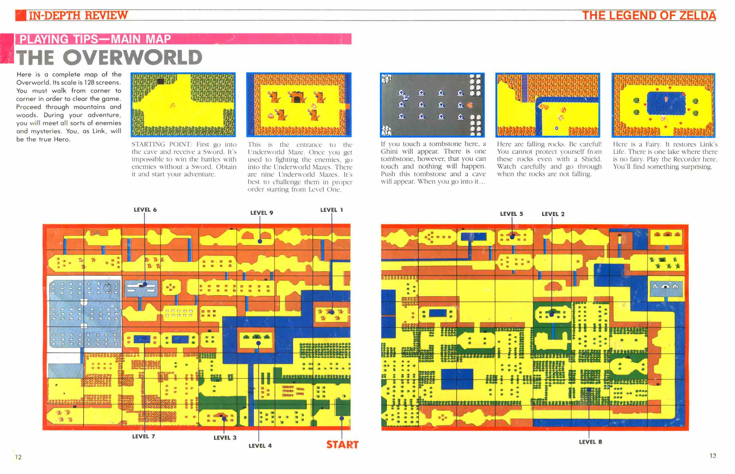 Official Nintendo Player's Guide Pg 12-13