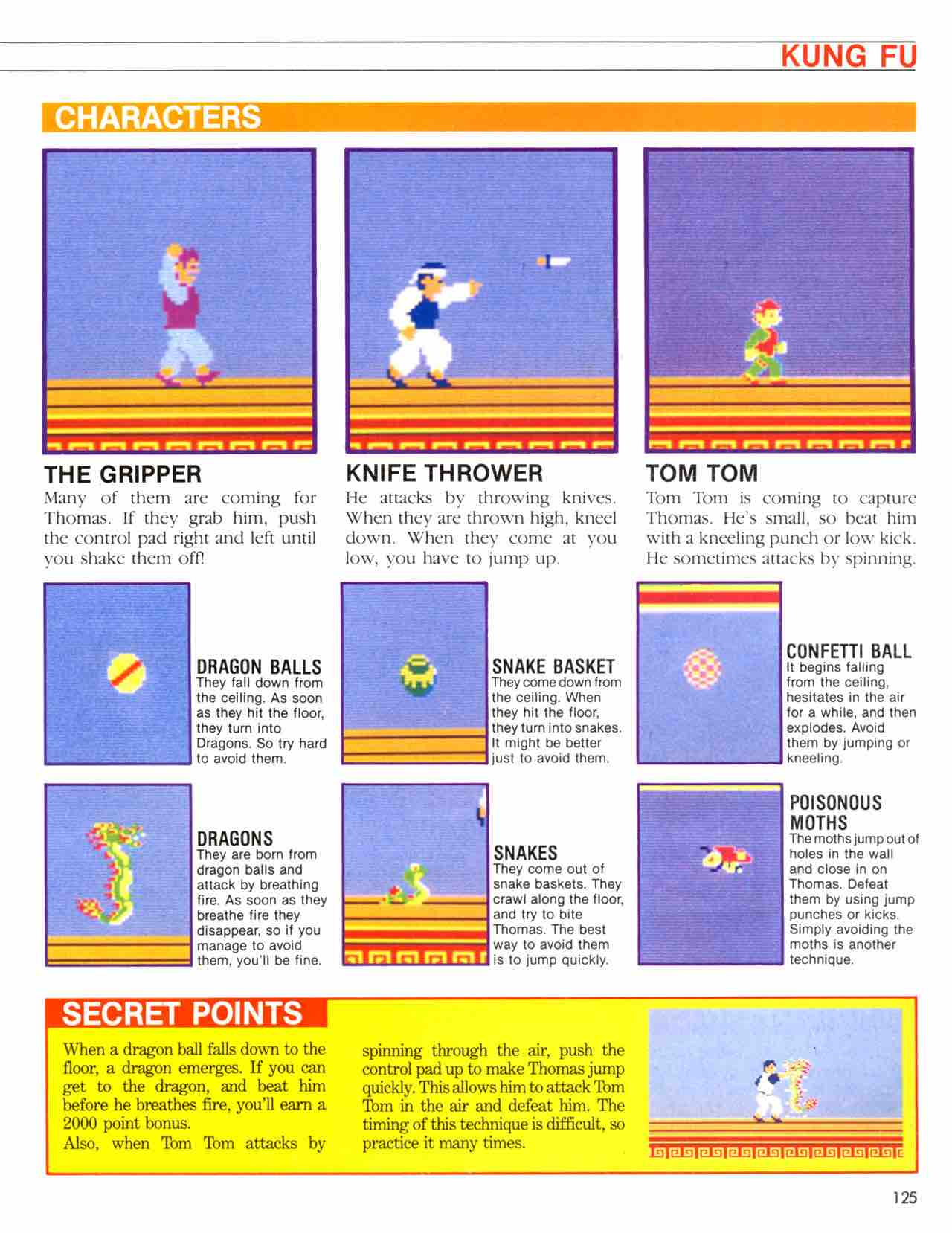 Official Nintendo Player's Guide Pg 125