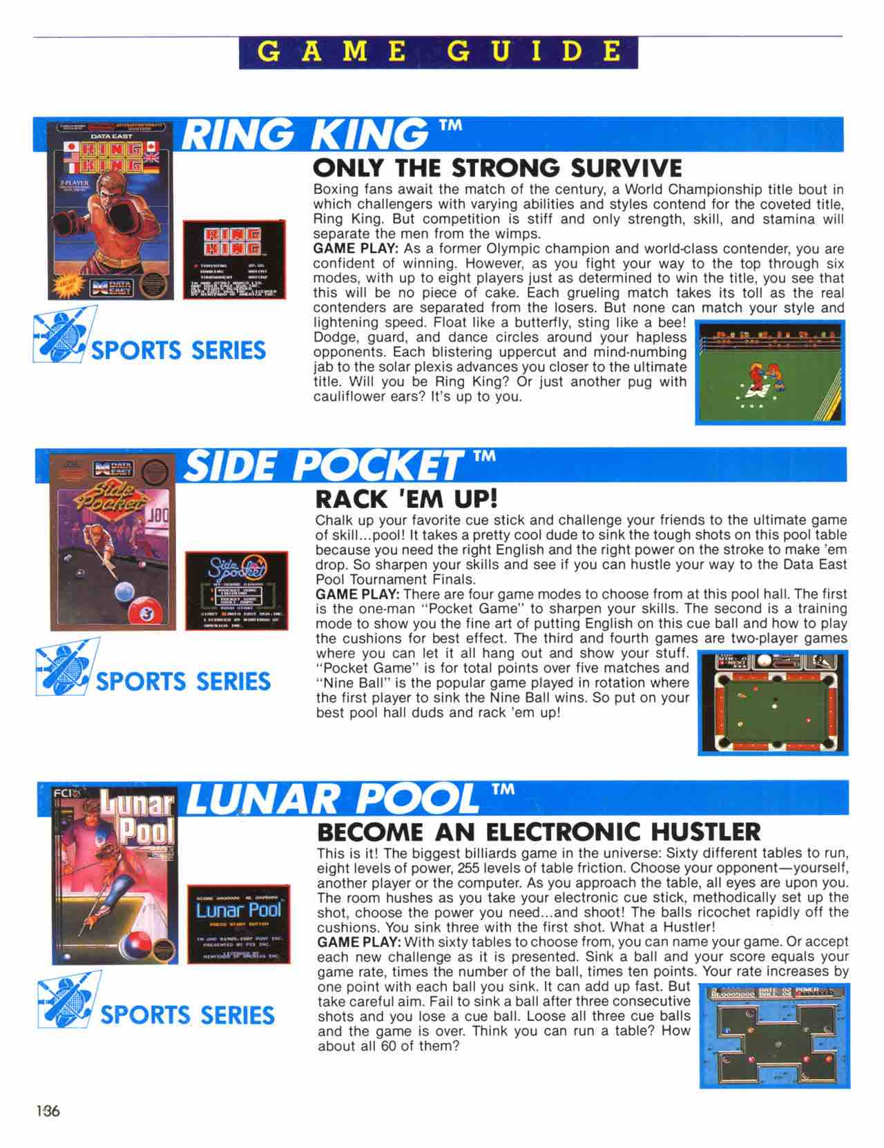 Official Nintendo Player's Guide Pg 136